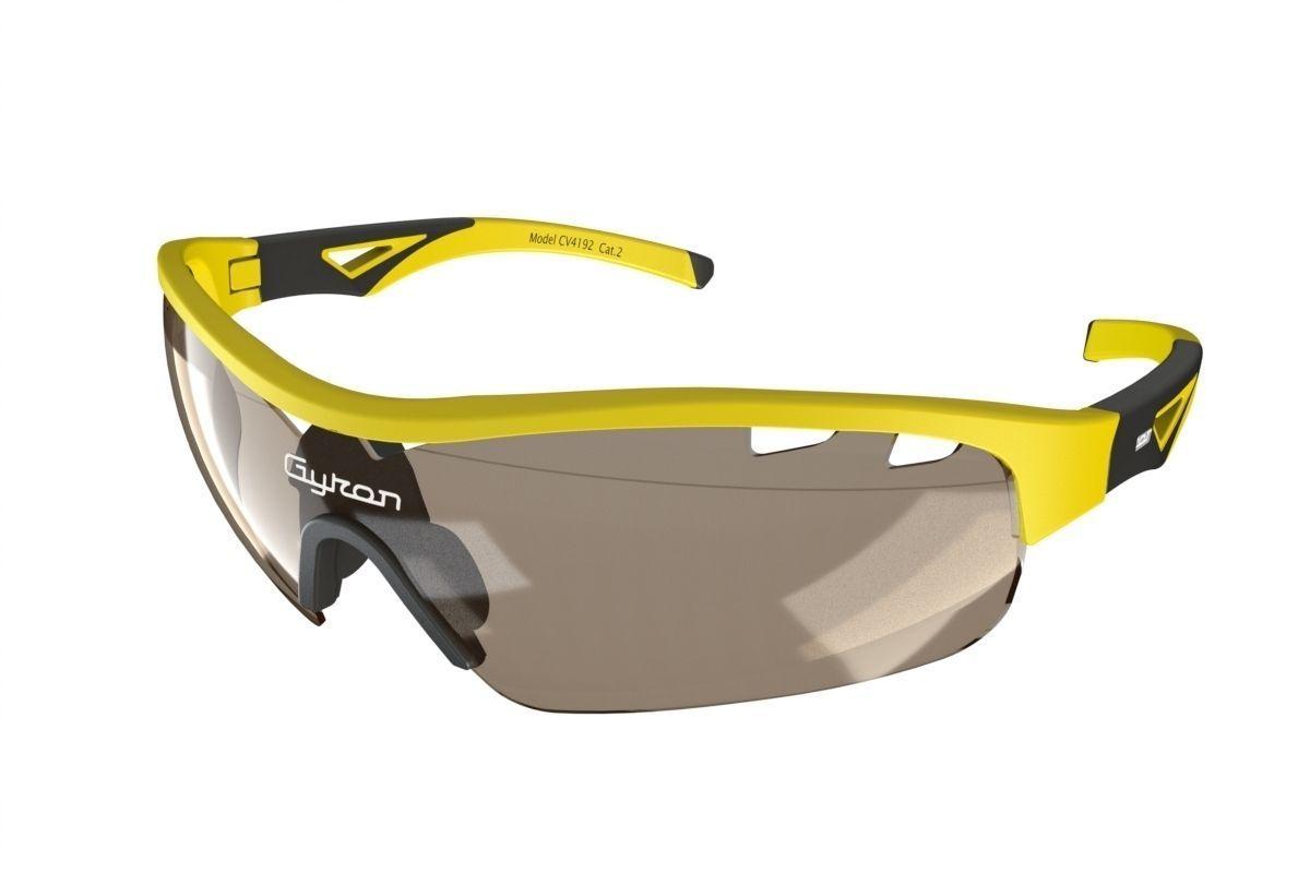 Sporty wrap around sunglasses