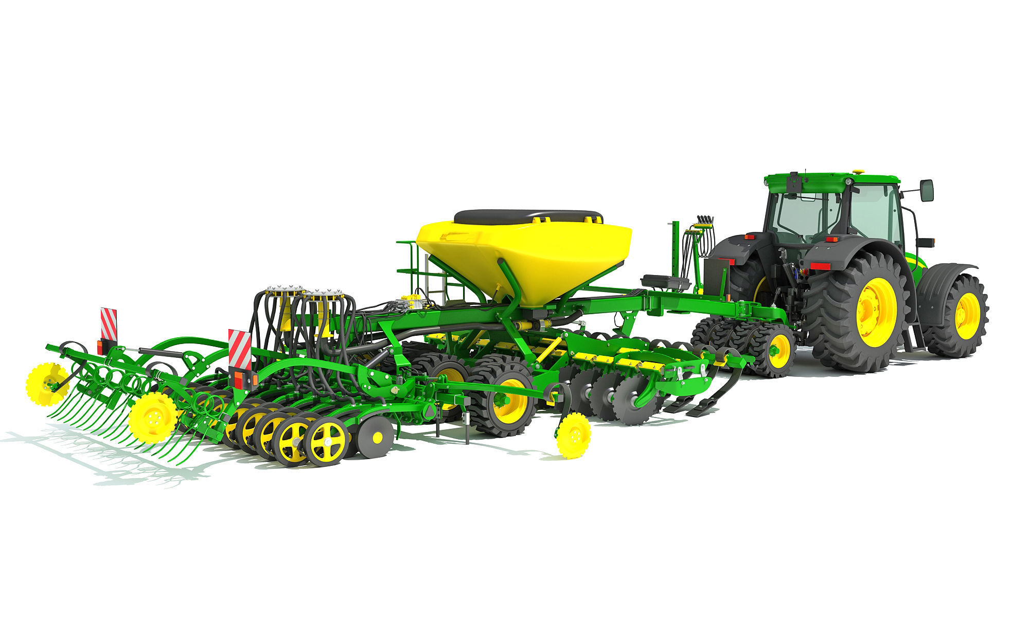 Tractor and Seed Drill