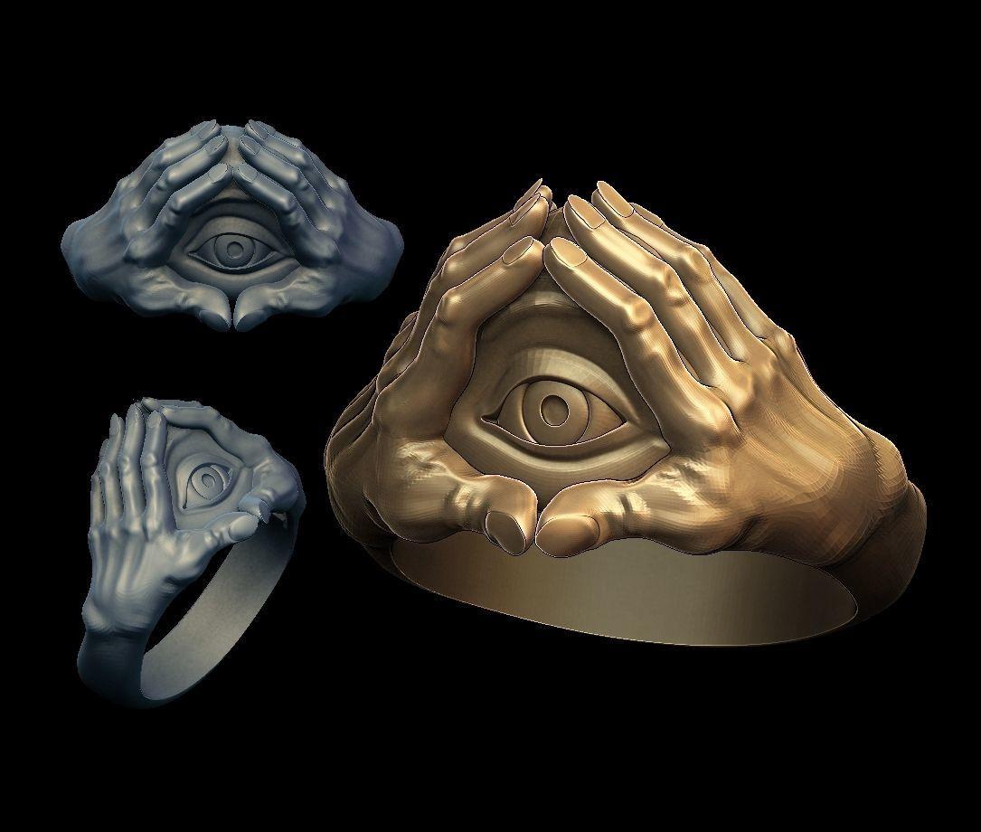 Eye in hands
