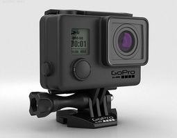 GoPro HERO3 plus Blackout Housing 3D Model