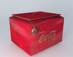 Coca cola trunk 3D model