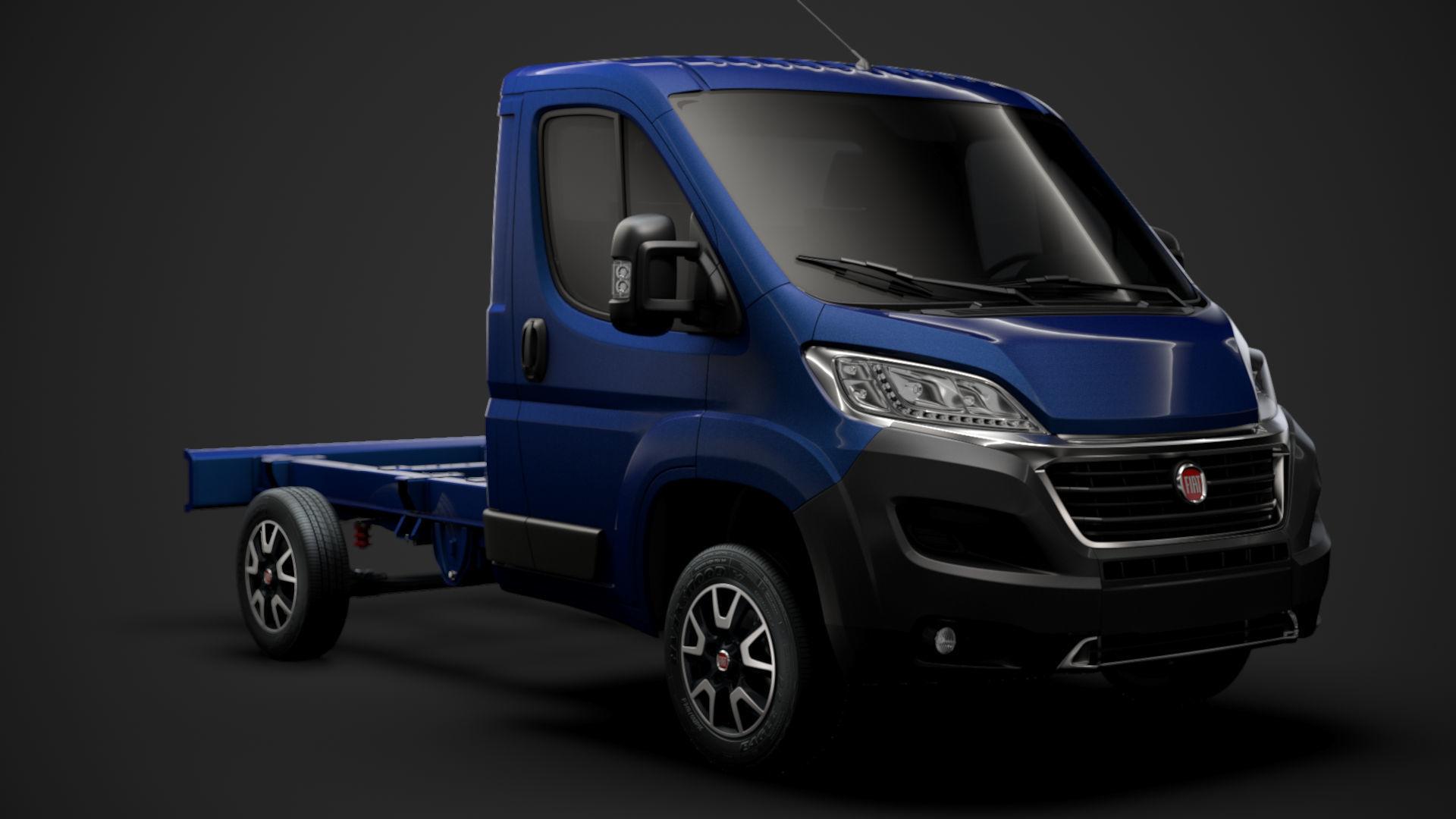 Fiat Ducato Chassis Truck Single Cab 3000WB 2020