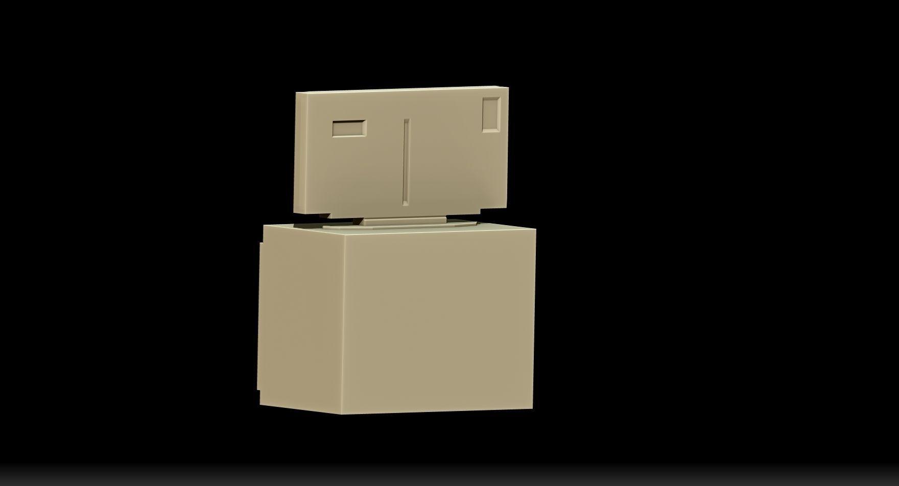 Meuble tv 3d model 3d printable stl for Meuble 3d