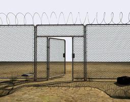 abandoned perimeter 3d model max obj 3ds fbx