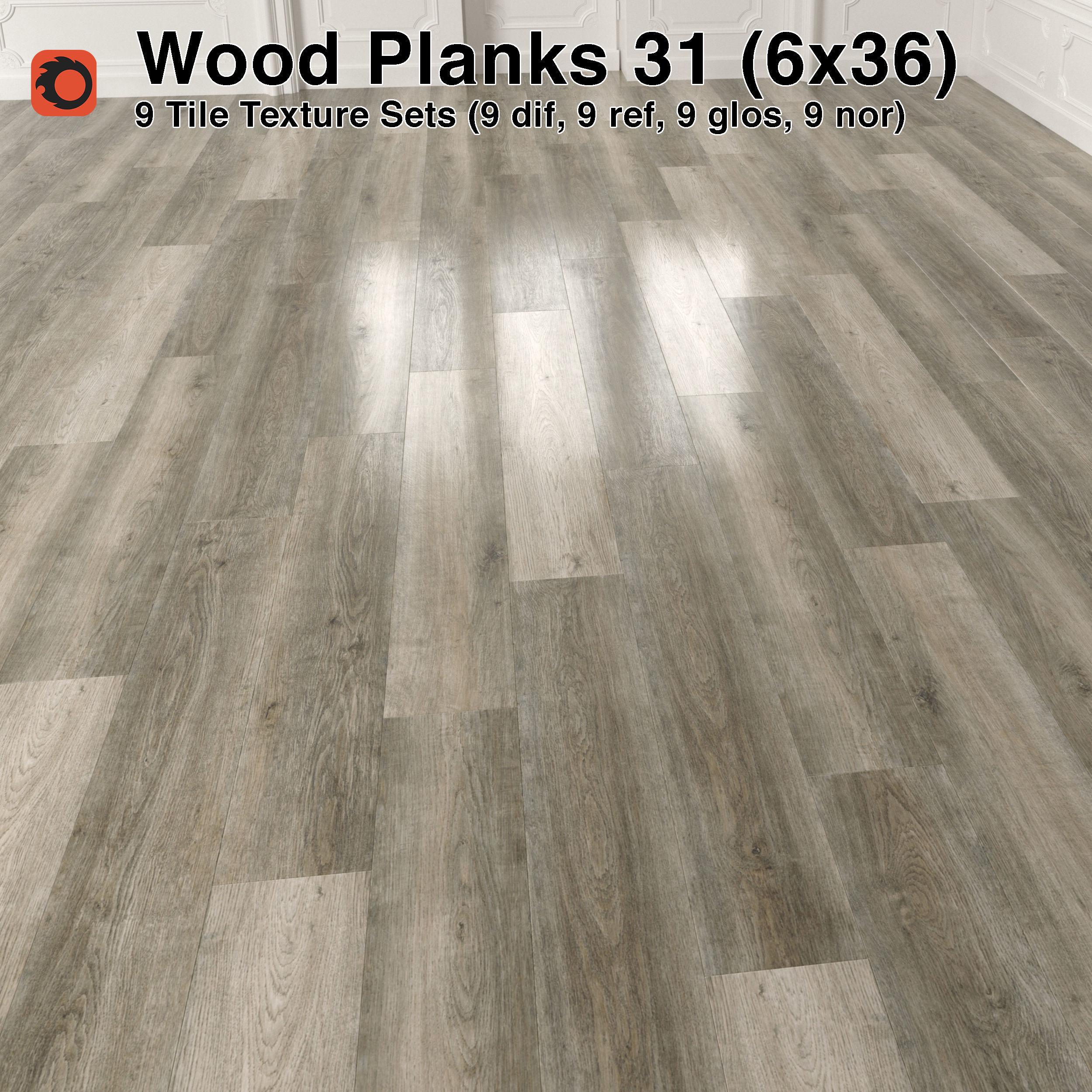3d Wood Floor Planks Pack 31 Texture Cgtrader