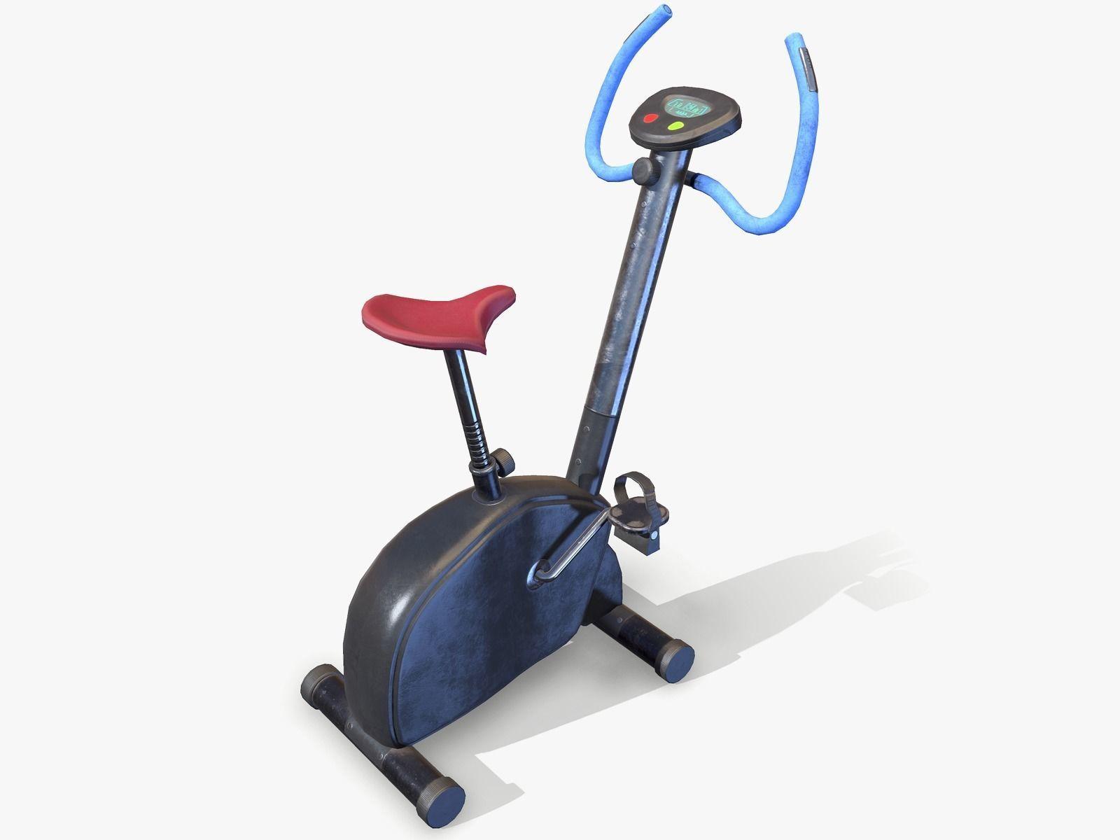 Workout Bike lowpoly