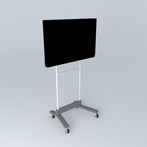 Stand Tv 3d Model Max Obj 3ds Fbx Stl Skp 1