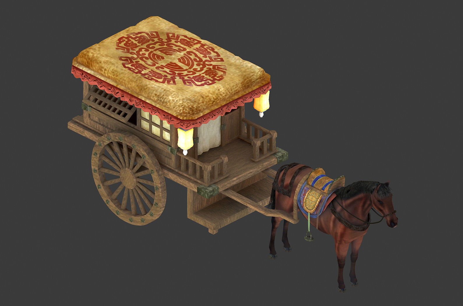 Game carriage 5357