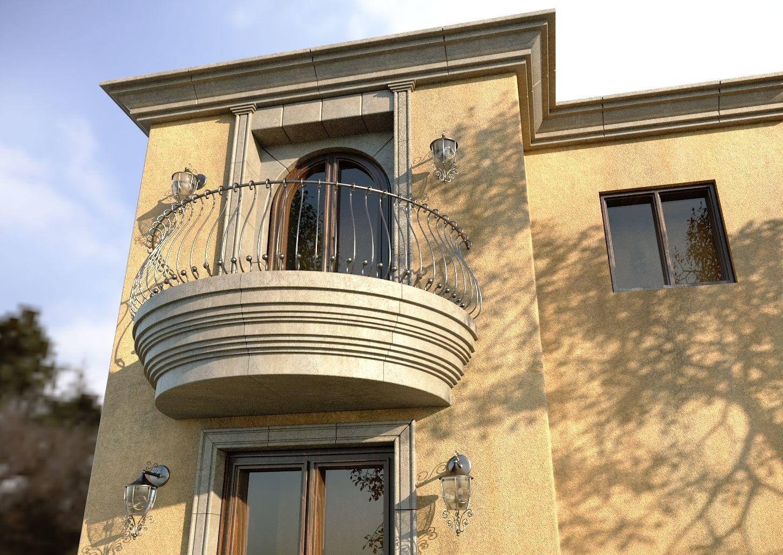 Tuscanian Balcony
