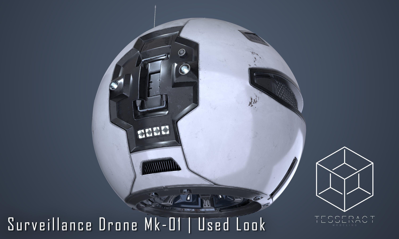 Surveillance Drone Mk1 Used Look