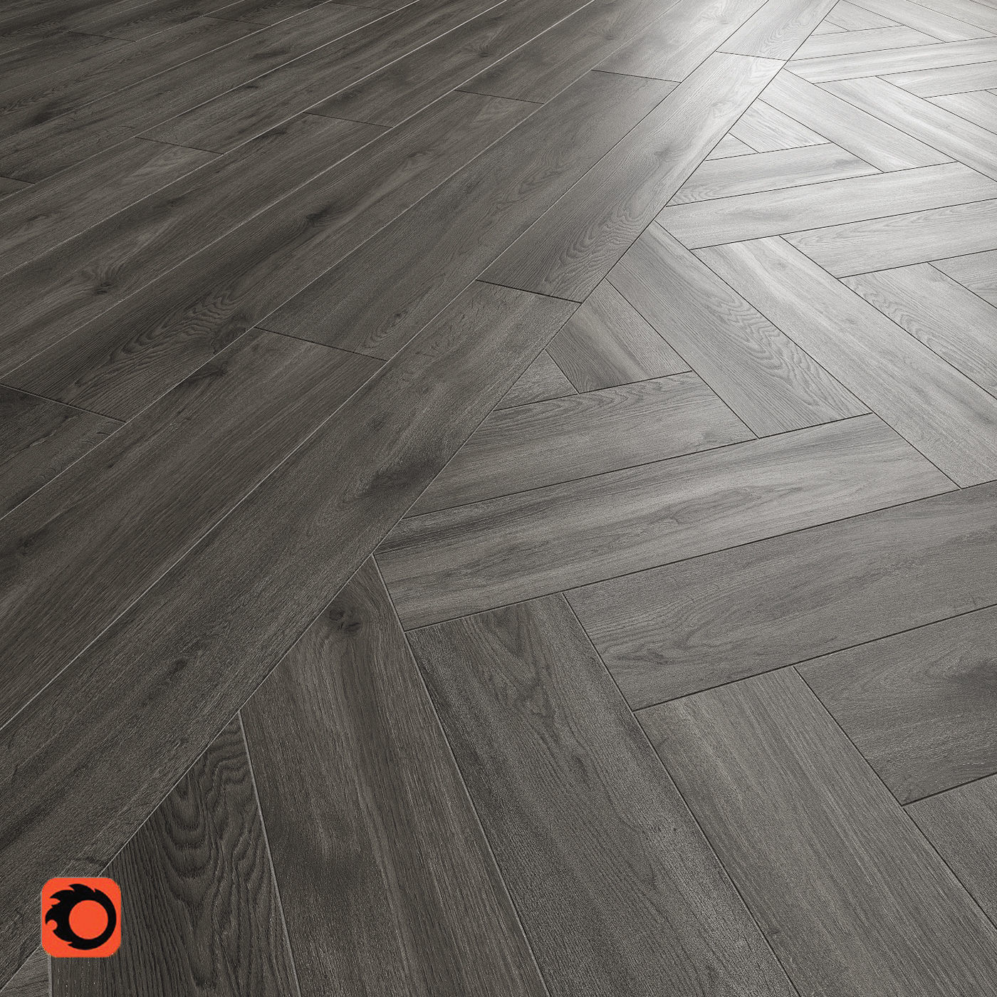 Kronewald grey Floor Tile