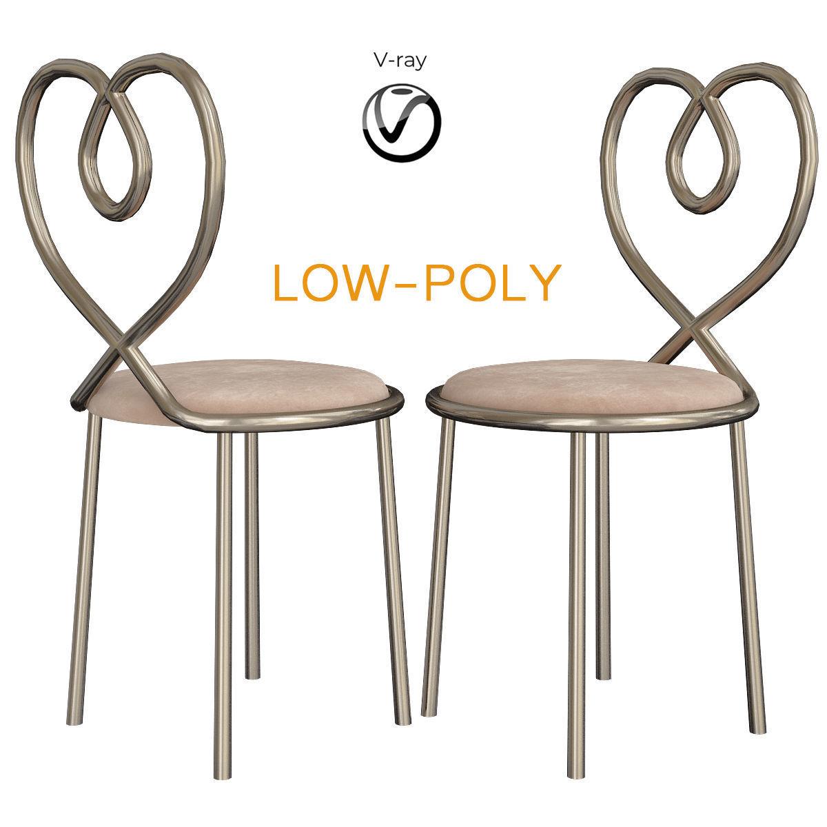 Ghidini 1961 Love Chair 3d model