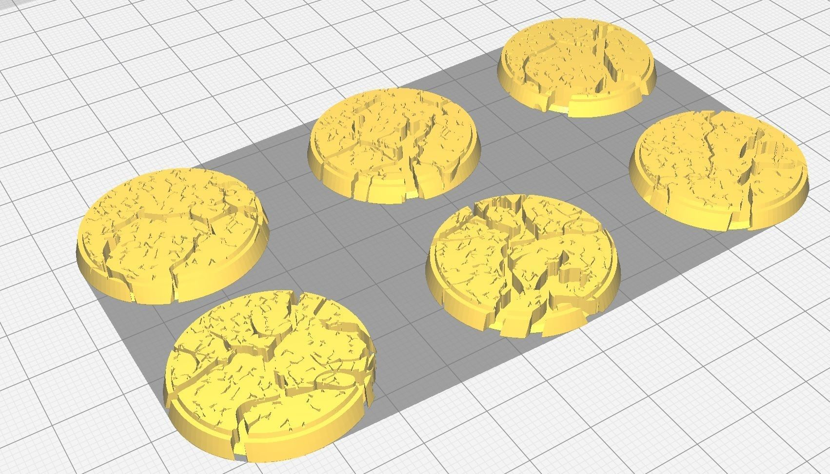 30mm Cracked Earth Bases