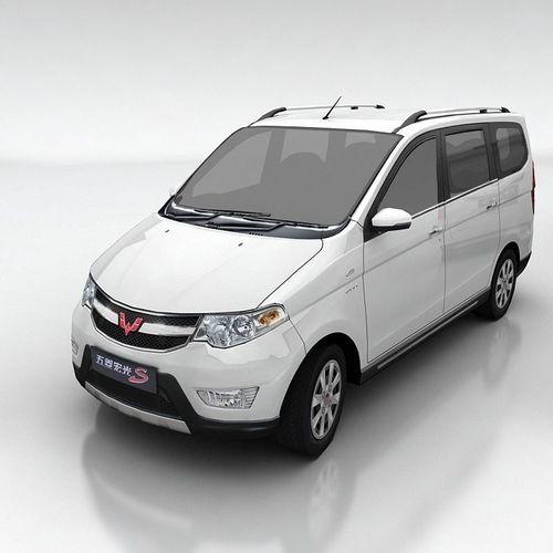 wuling hongguang s 3d model low-poly max obj fbx mtl tga 1