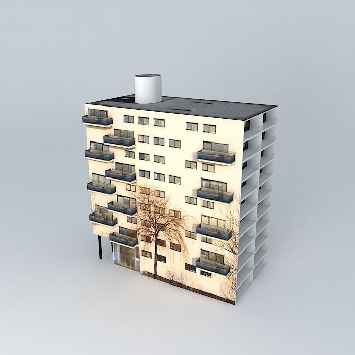 Model Apartments: 3D Model Apartments Complex