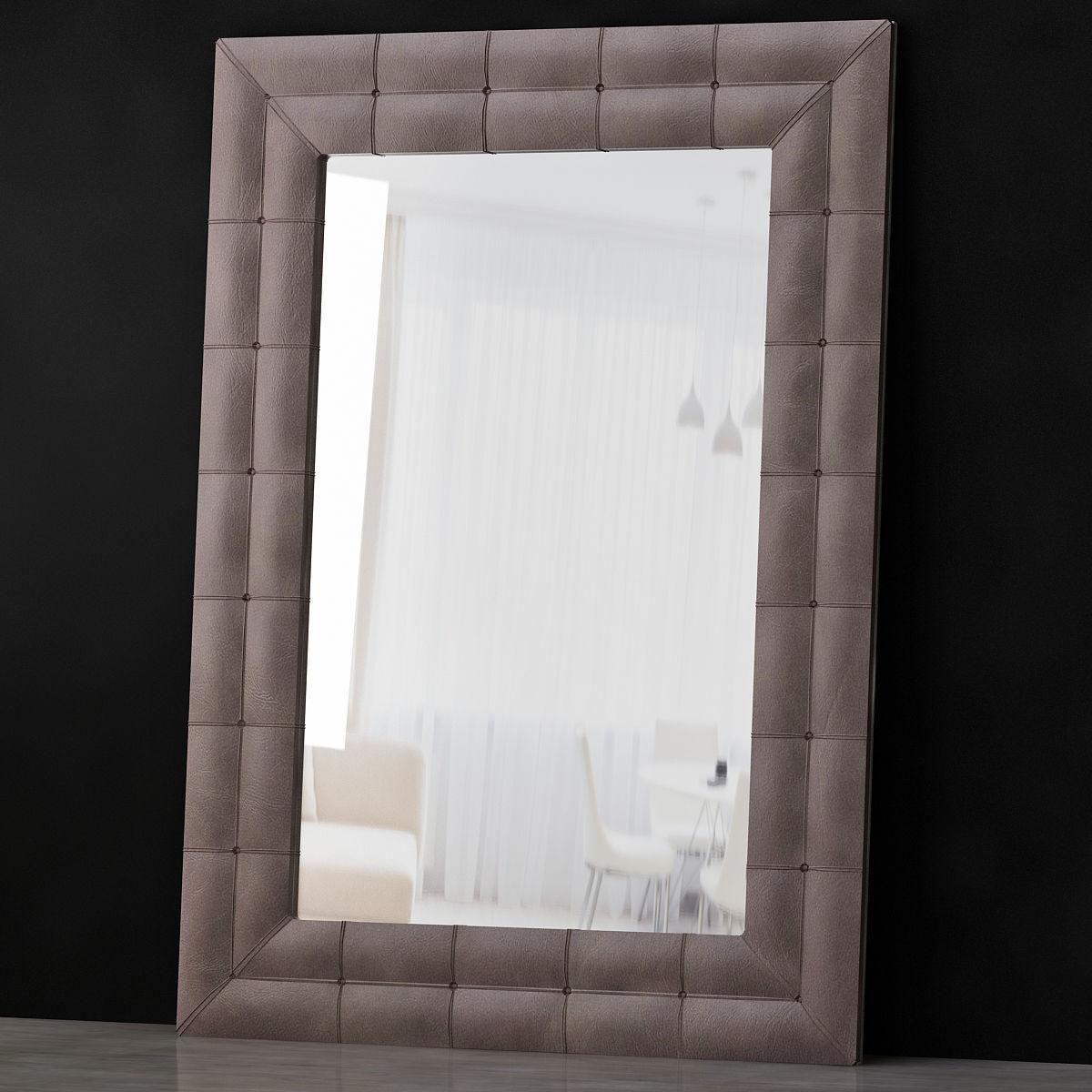 Mirror PASHA RIM low poly 3d model