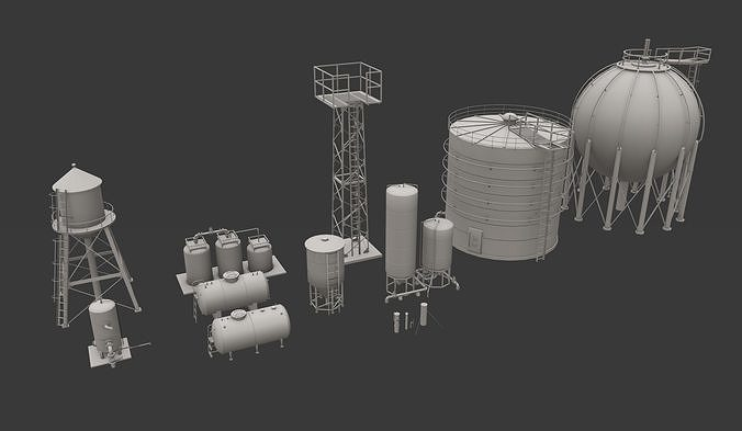 Storage Tanks Pack