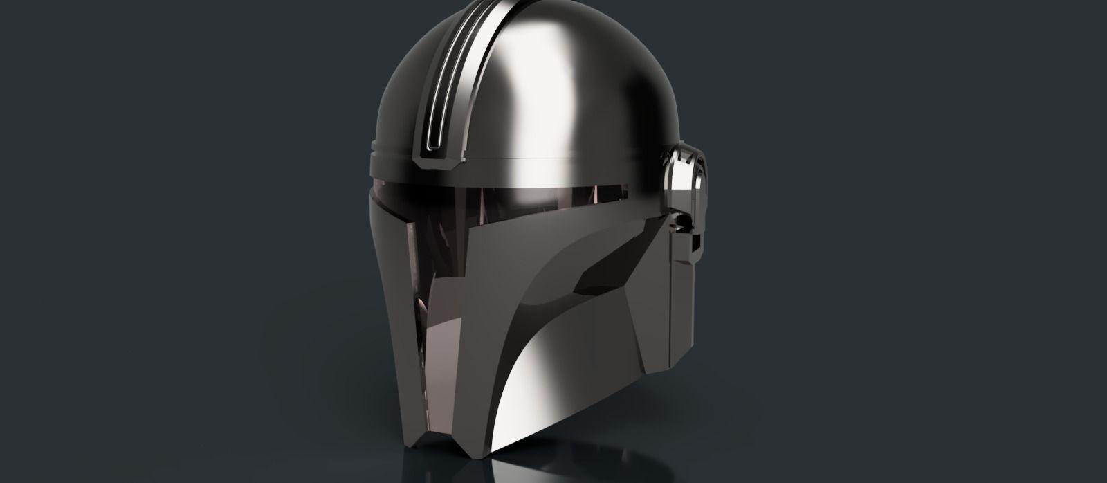 V3 Mandalorian helmet Star Wars