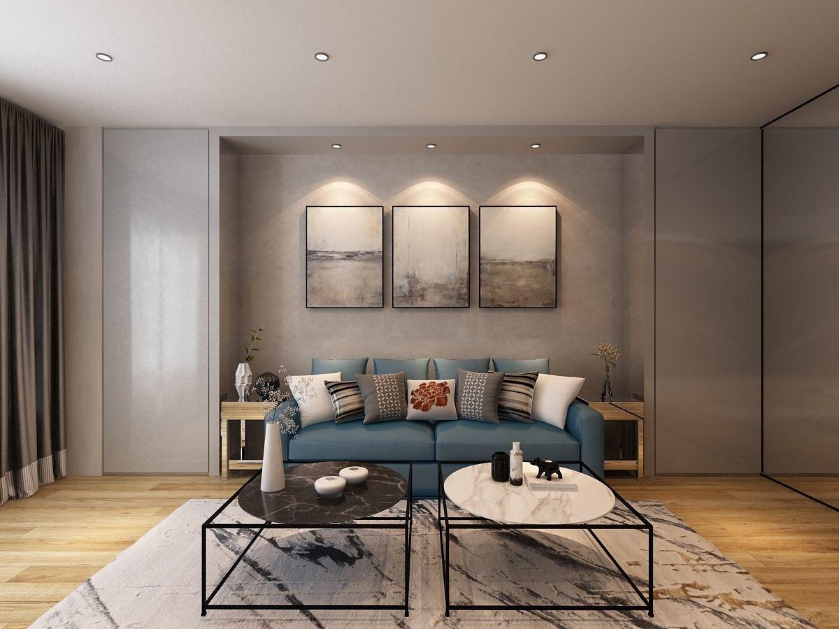 Sofa set room 3D | CGTrader