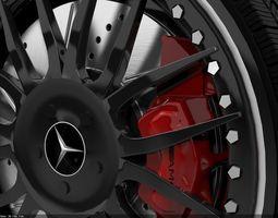 3d model mercedes wheel