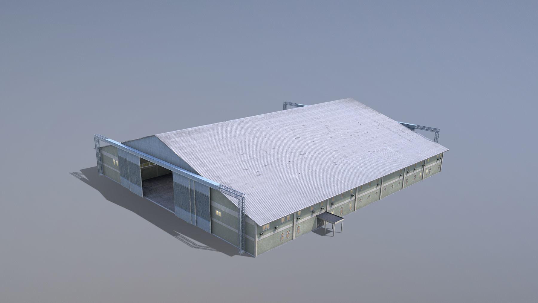 MilitaryBase PortoVelho Hangar 01