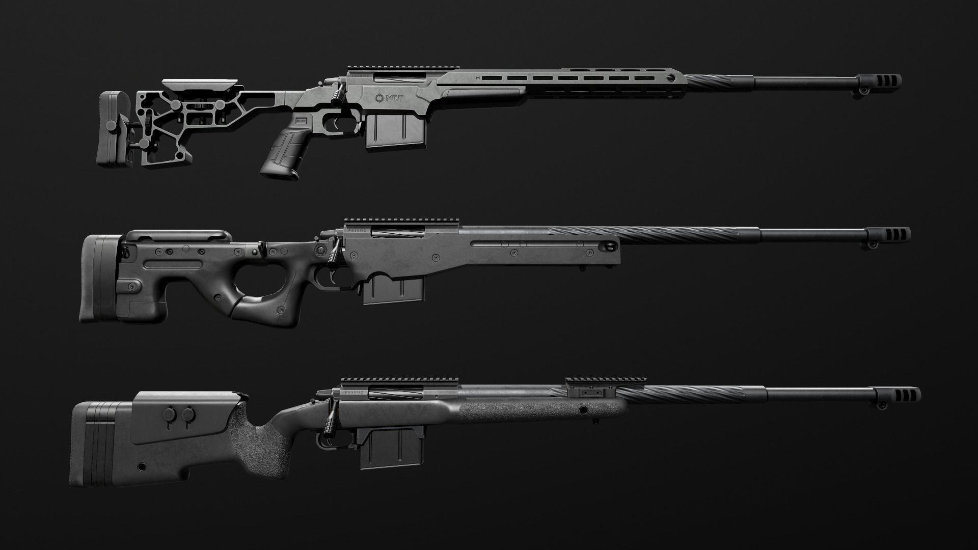 Remington 700 Sniper Rifle