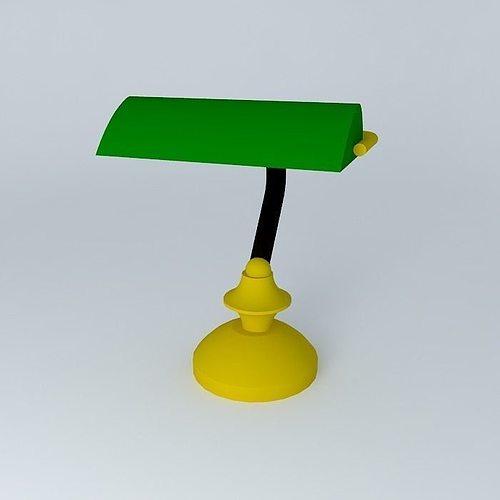 ... Table Lamp Library 3d Model Max Obj 3ds Fbx Stl Skp 2 ...