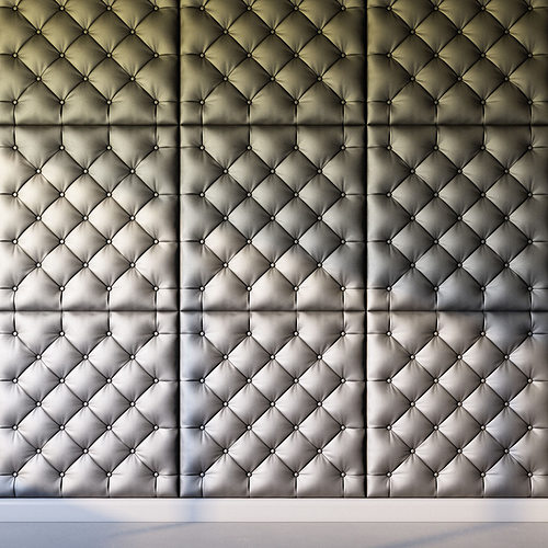 3d Decorative Wall Panel Gray Cgtrader