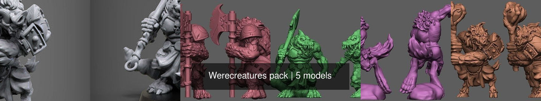 Werecreatures pack