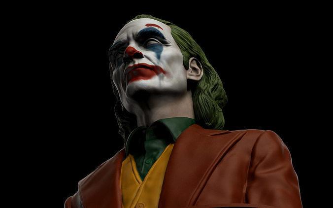 Joker - Joaquin Phoenix Bust v2