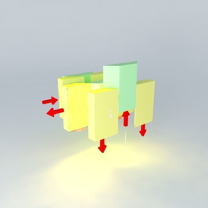 3d Model Fault And Fault Blocks