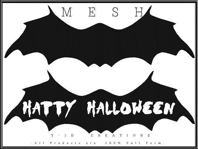 Bat Halloween Sign