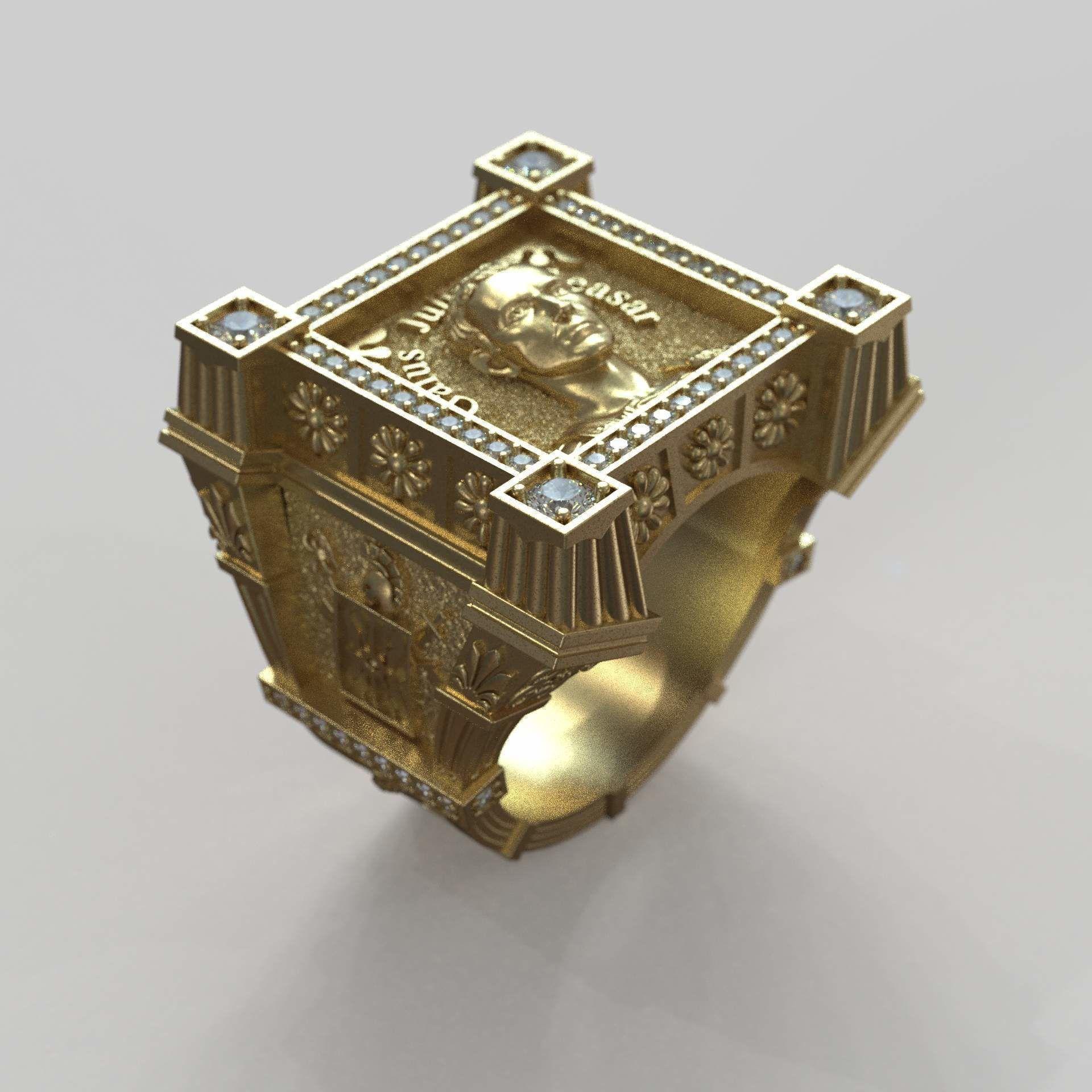 Man Ring Guy Julius Caesar