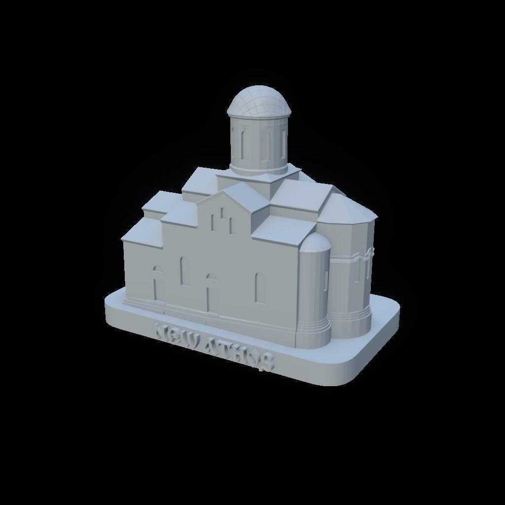 The Church 3D Print Ready Model