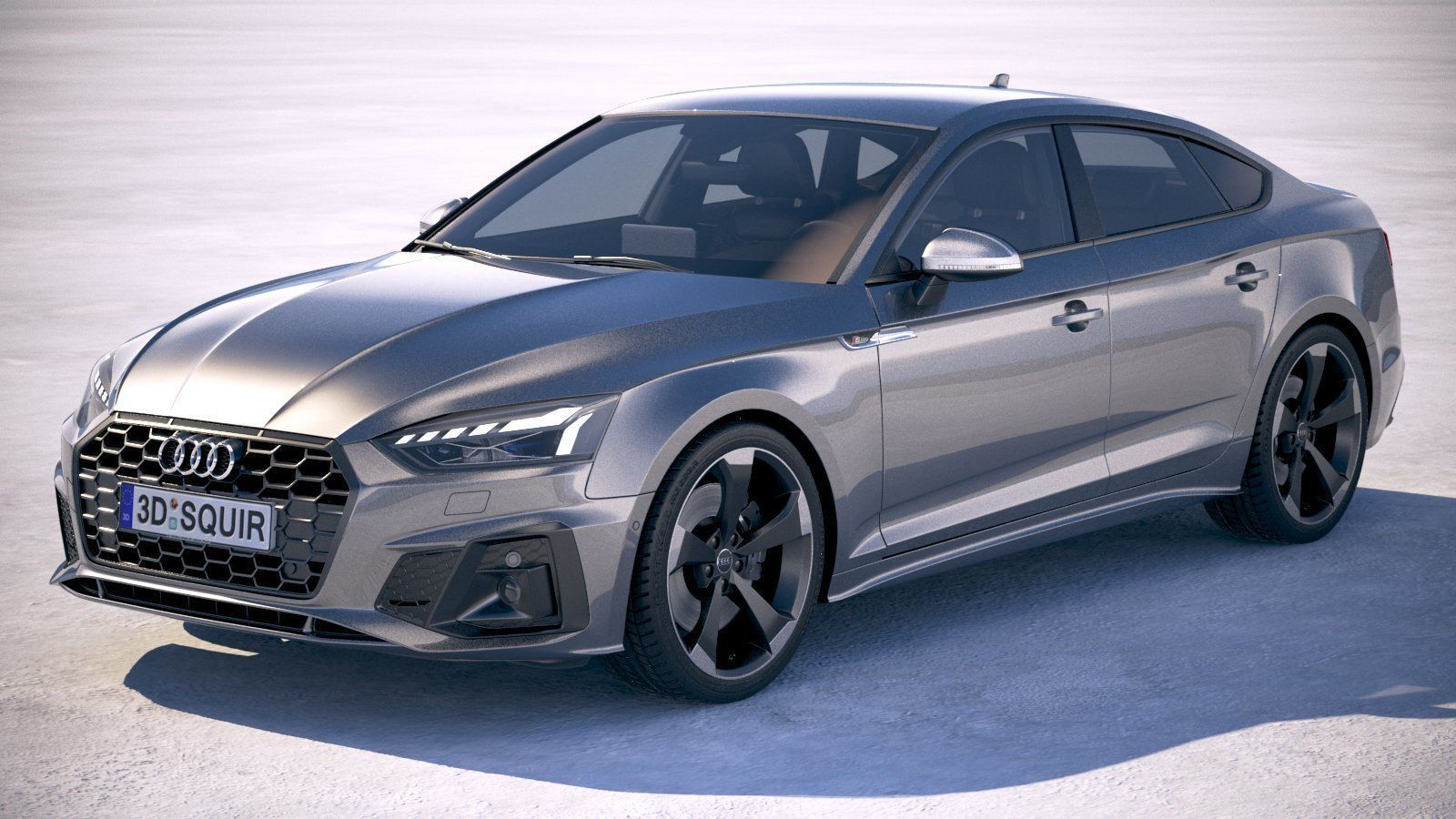 3D model audi Audi A5 Sportback S-line 2020 | CGTrader
