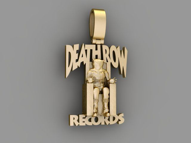 Pendants Death row records - KING ICE