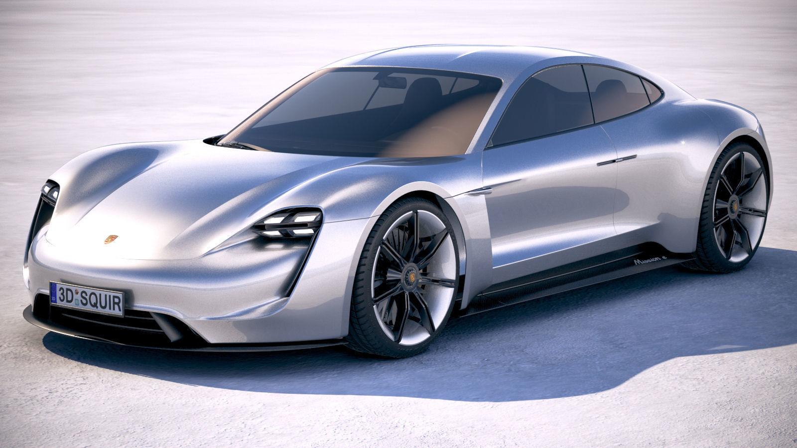 Porsche Mission E Concept 2015 Bonneville