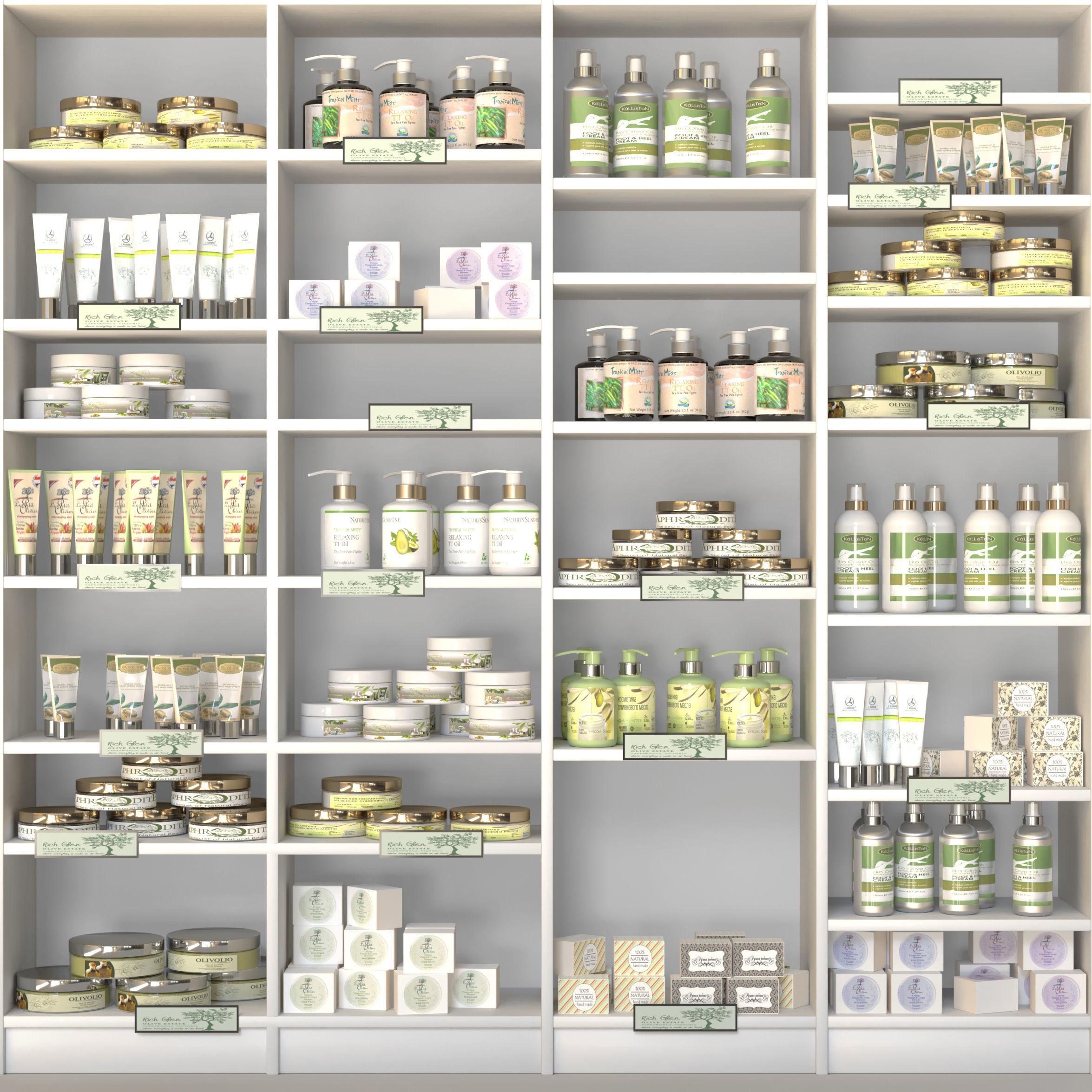 Large Cosmetic Showcase Set