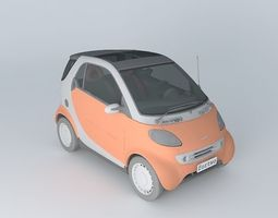 3D Smart ForTwo