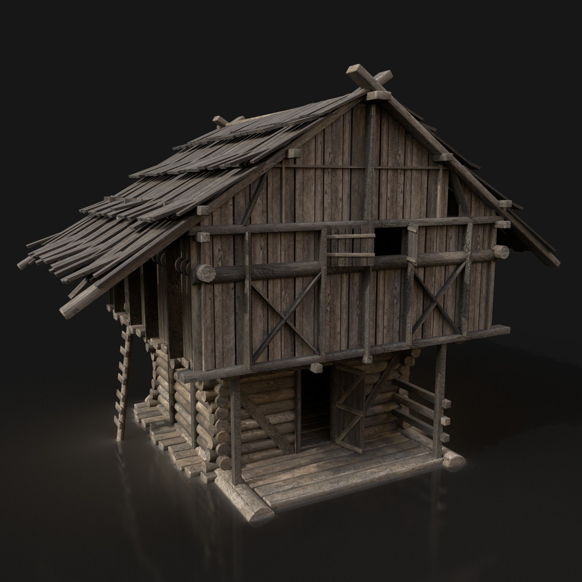 Viking Big House Cottage Hut Northern Fantasy Next Gen AAA