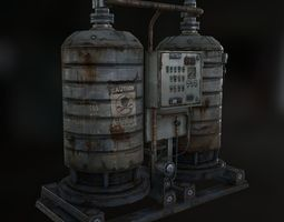 nuclear 3d model