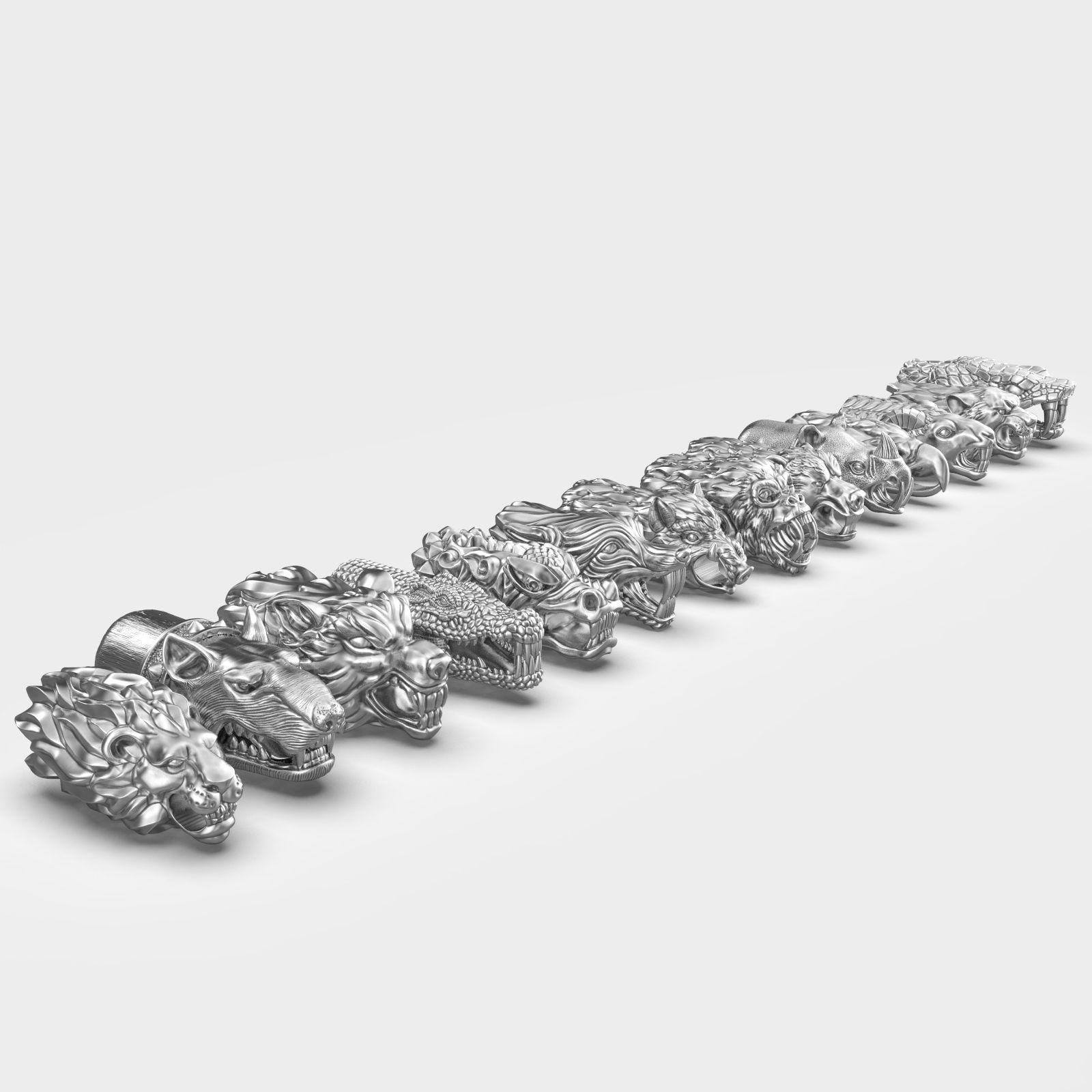 End pieces for bracelets  5mm