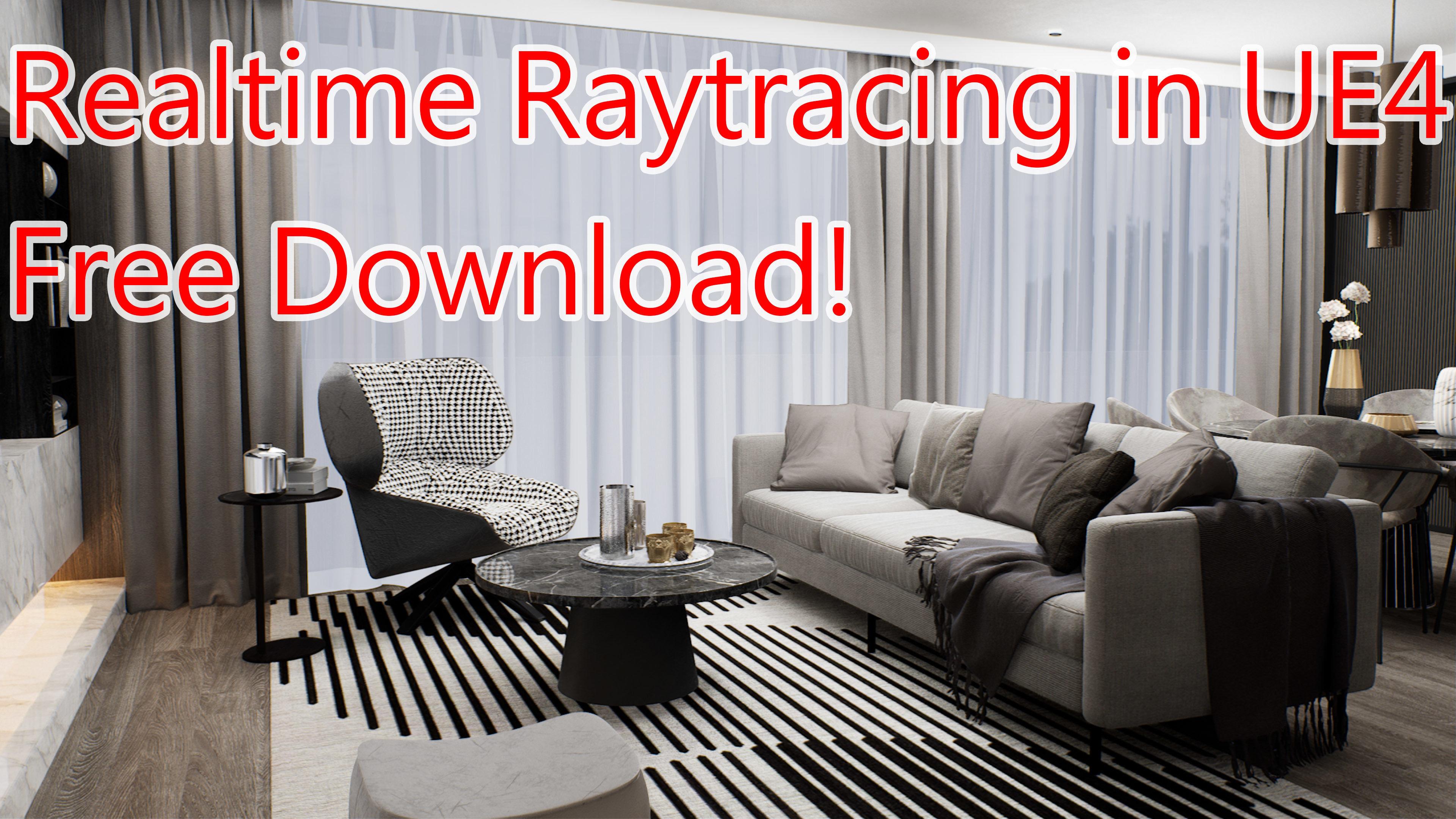 Sponsor Download Ue4 Realtime Interior Livingroom Ray 3d