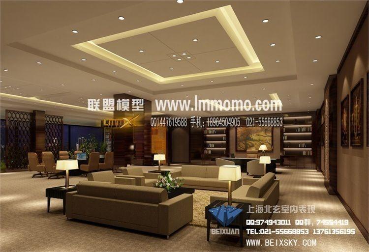 Luxury interior design living room bedroom 3d model max for Model interior design living room