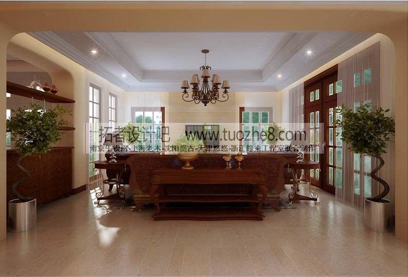 stylish interior design living room restau 3d model max stylish interior design living room restau 3d model