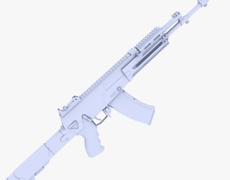 3D asset AK12 Assault Rifle