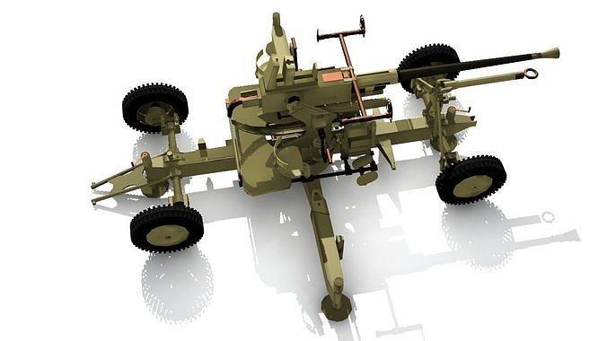 Bofors 40 mm AA Gun