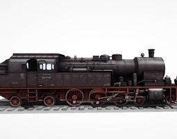 Steam Locomotive LK 06 3D asset