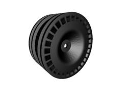 rc car drift dtm wheel width 24mm offset plus 2mm 3d print model