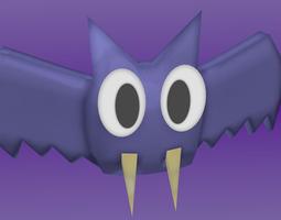Cartoon Bat  3D Model